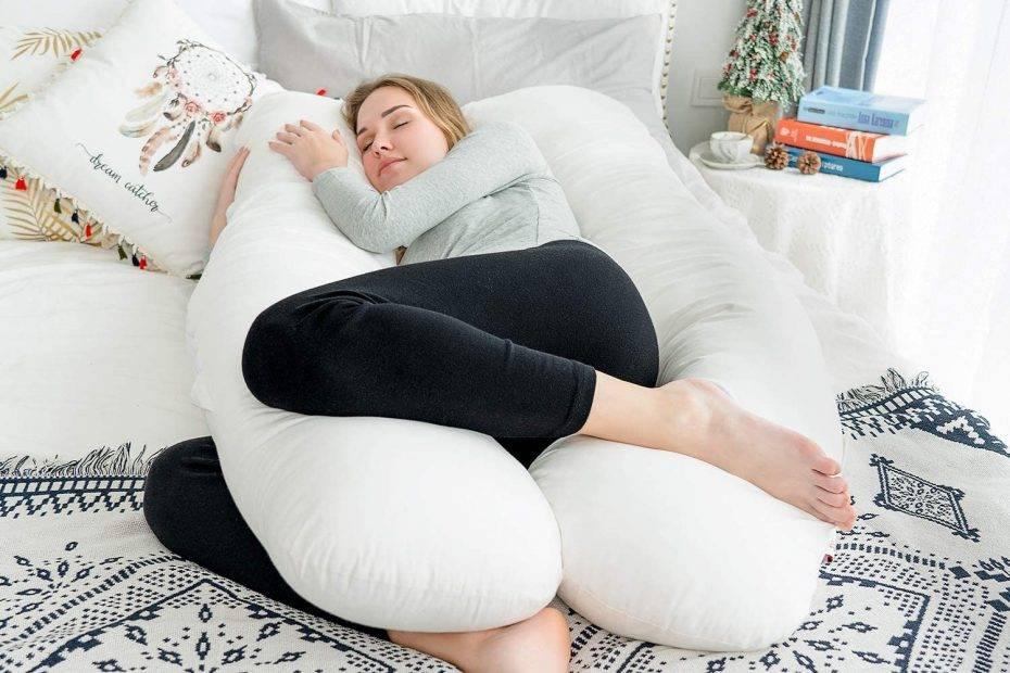 NiDream Bedding Premium Pregnancy Pillow U Shaped